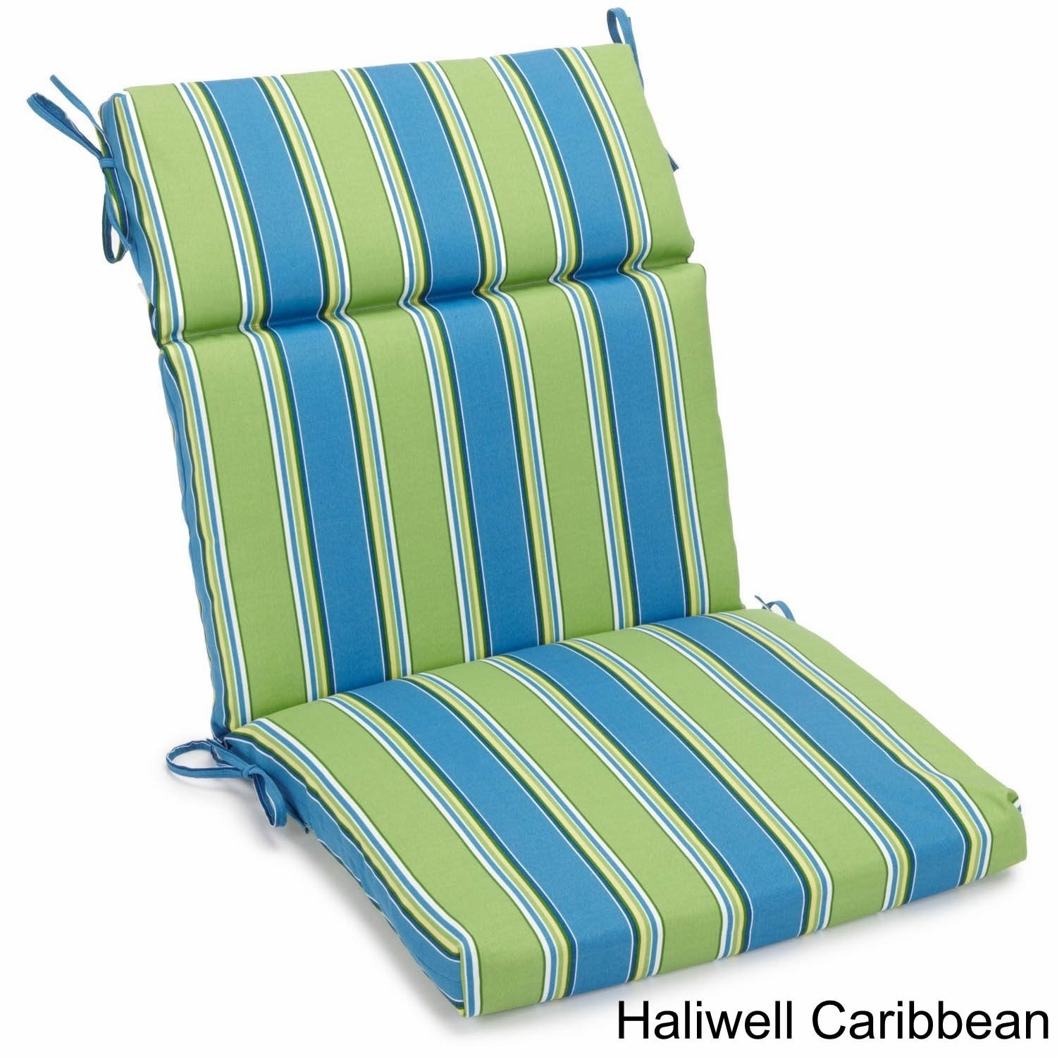 Blazing Needles 3 Section Indoor Outdoor Chair Cushion 38 X 18 Free Shipping Today 8366319