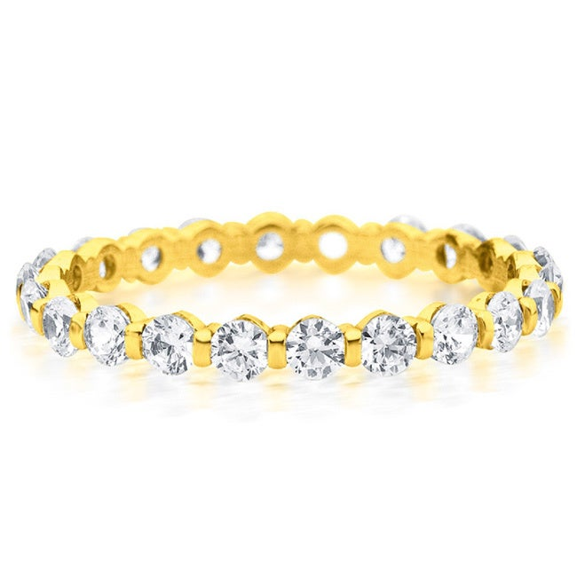 yellow diamond u band style eternity gold shared bands prong ladies y