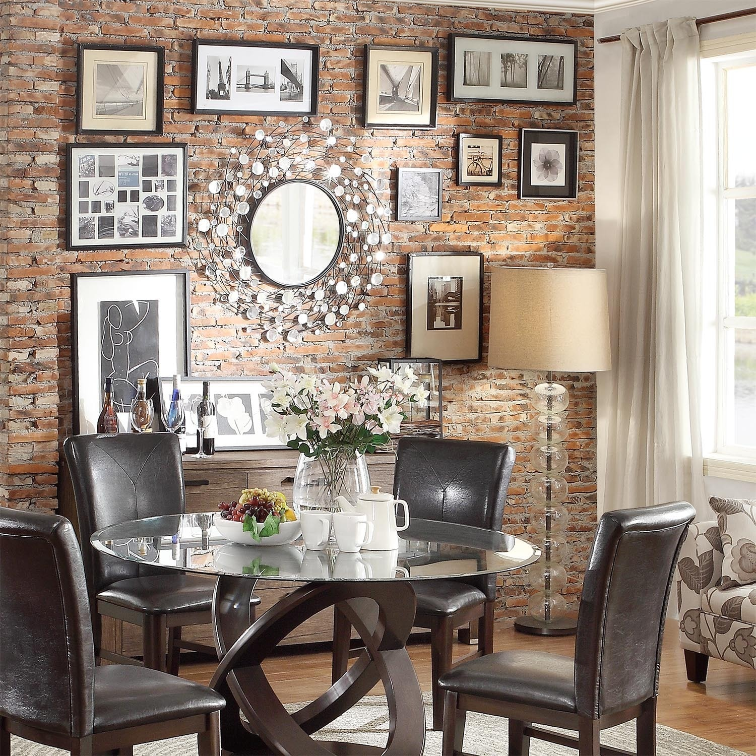 Pollock Spinning Nest Silver Finish Accent Wall Mirror - Free Shipping  Today - Overstock.com - 15684129