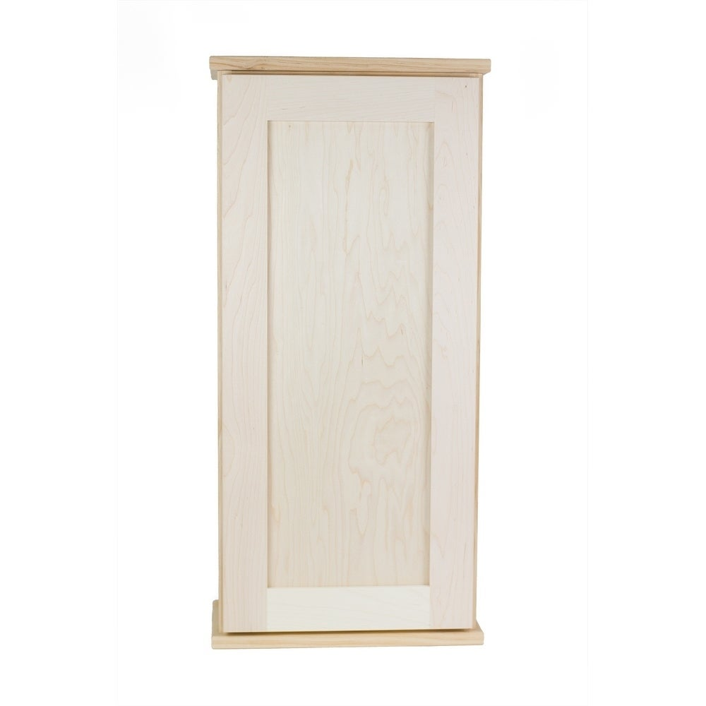 Shop Ashley Series 42-inch Unfinished 7.25-inch Deep On-the-Wall ...