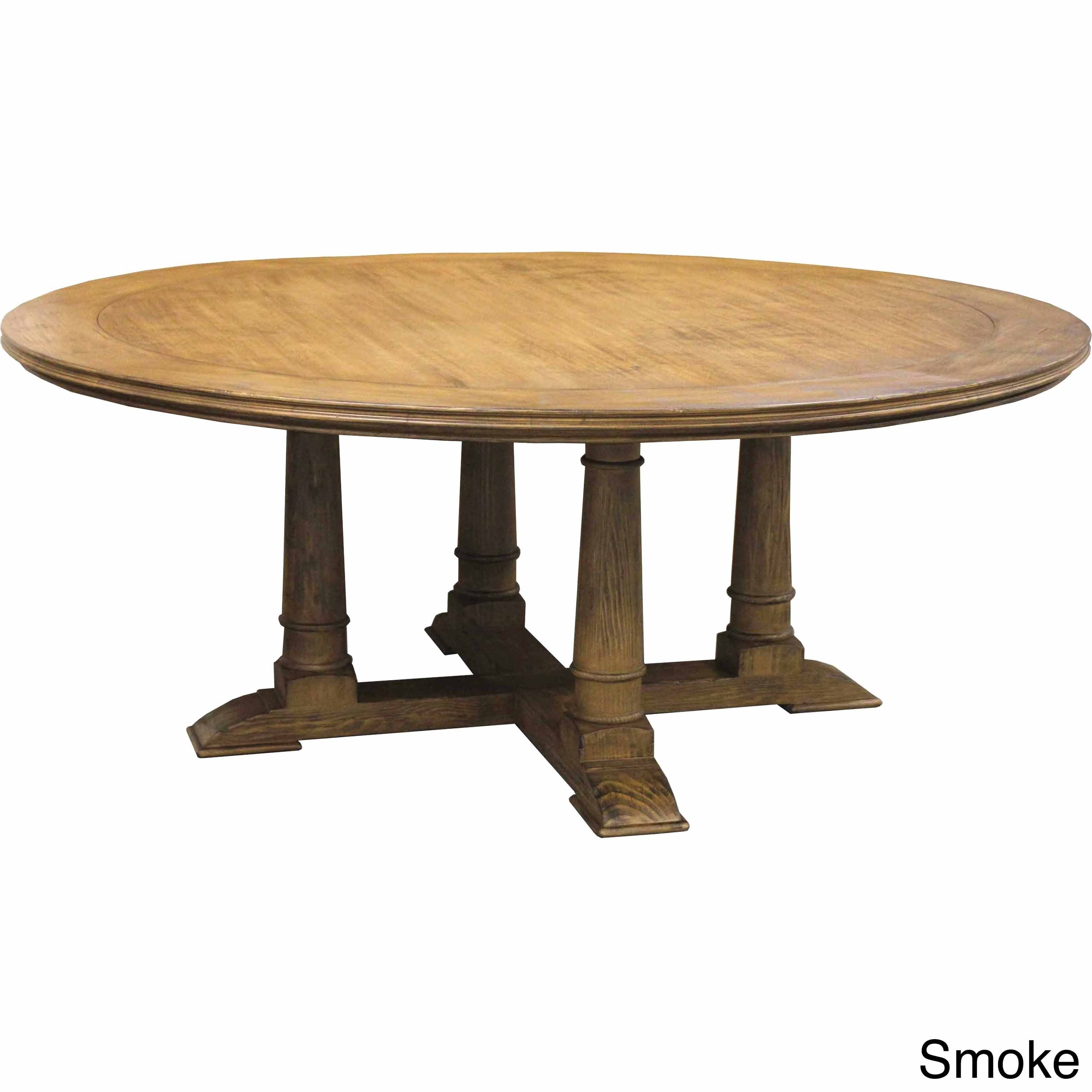 Victoria Reclaimed Wood Round Dining Table Free Shipping Today