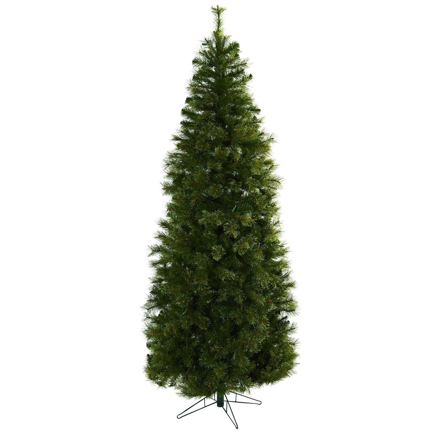 Cashmere Slim 7 5 Foot Christmas Tree With Clear Lights