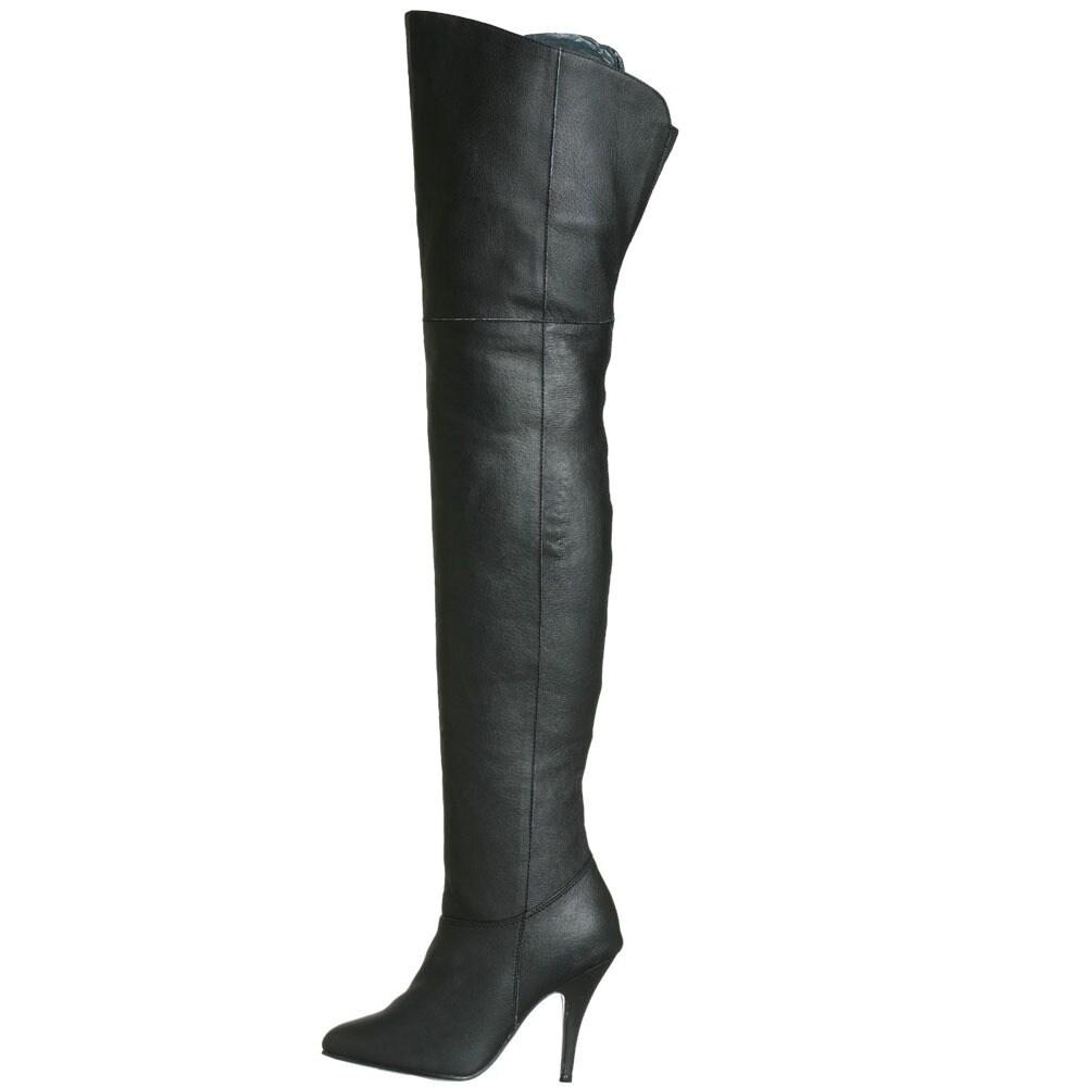 271cce082c29b4 Shop Pleaser Women's 'Legend-8868' Over-the-knee Stiletto Boots ...