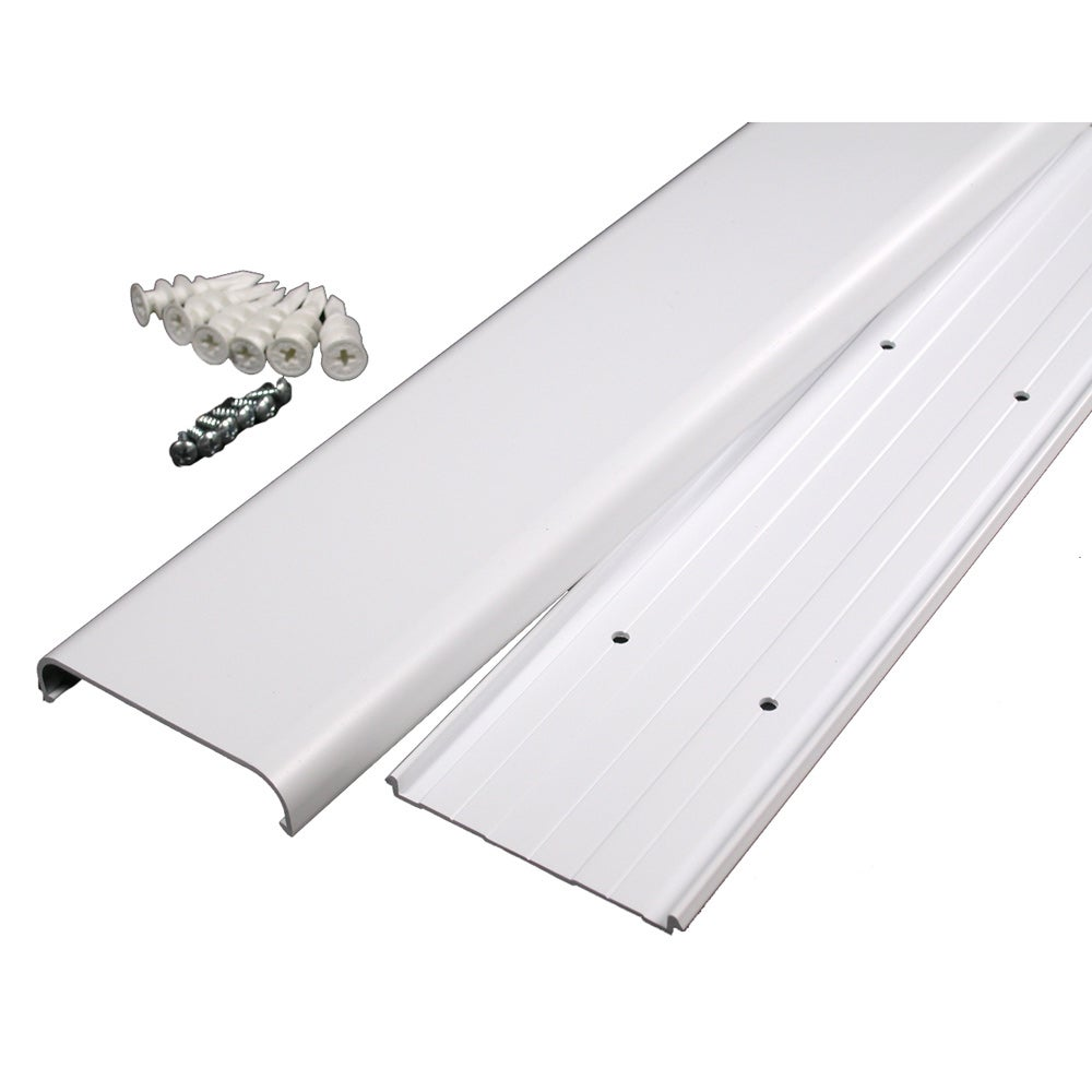 Wiremold / Legrand Flat Screen TV Cord Cover Kit - Free Shipping On ...