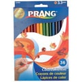 Prang Colored Woodcase Pencils 3.3 mm 36 Assorted Colors/Set