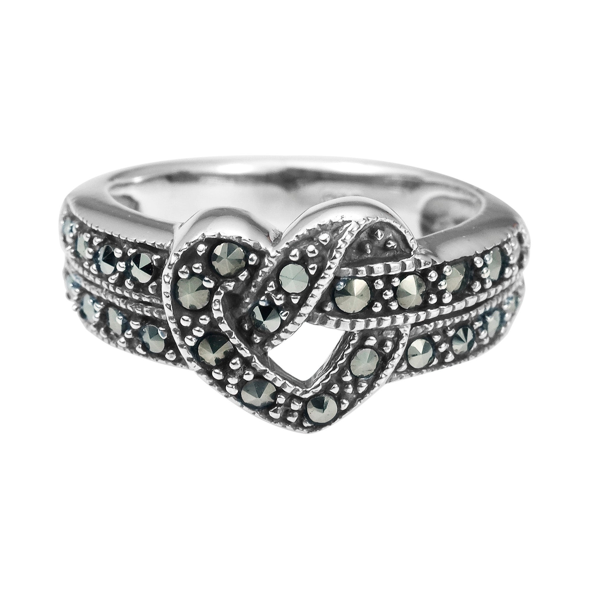 free watches over jewelry thailand sterling flower rings shipping ring silver product handmade vine marcasite on orders overstock beautiful