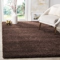 Safavieh Milan Shag Brown Rug (3' x 5')