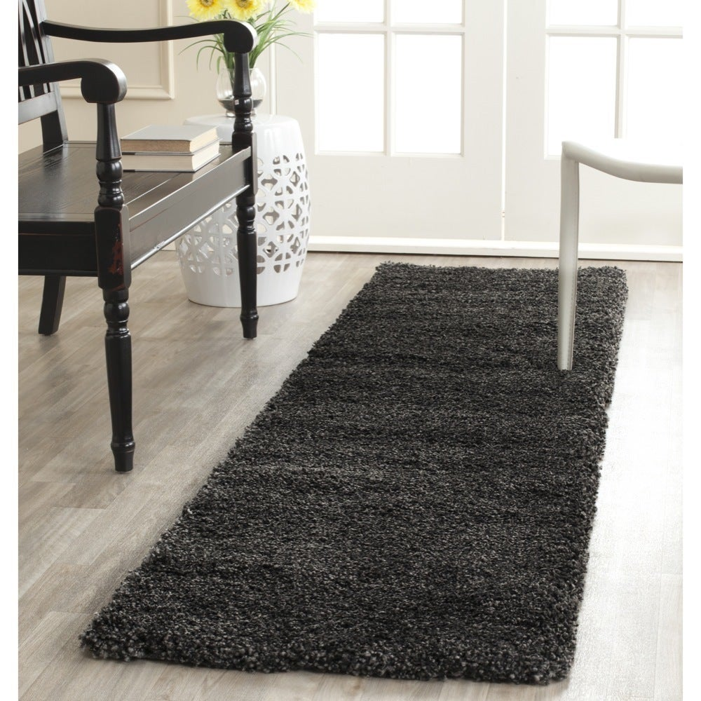 Safavieh Milan Dark Grey Runner Rug 2 X 6 Free Shipping On Orders Over 45 15703405