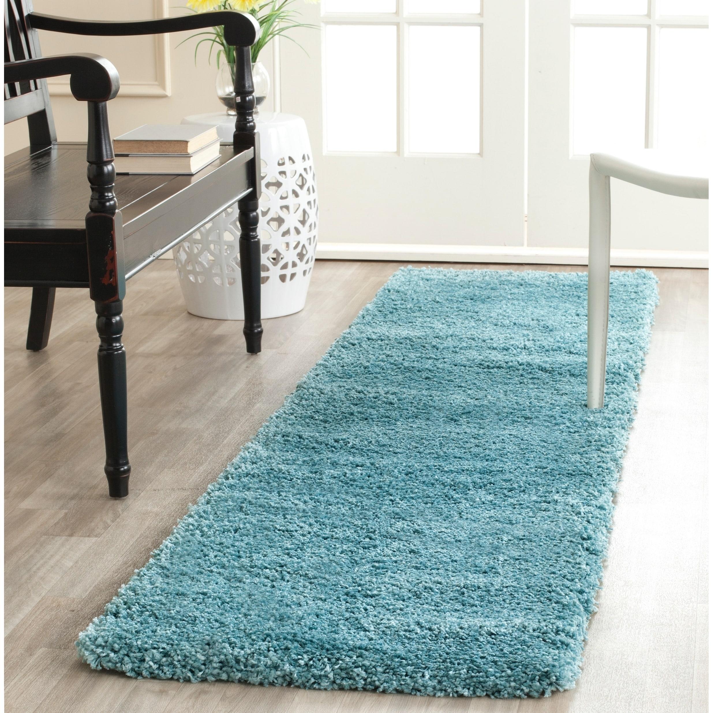 Safavieh Milan Aqua Blue Rug 2 X 8 On Free Shipping Today 8402827