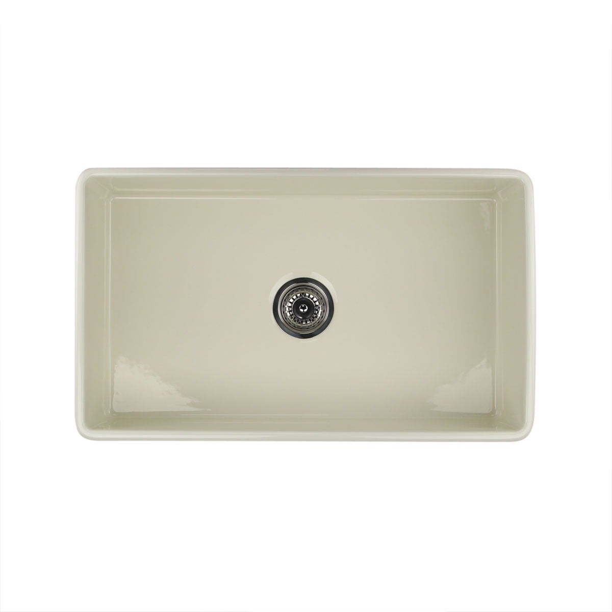 Beau Shop Highpoint Collection 30 Inch Bisque Fireclay Farmhouse Kitchen Sink  With Grid And Drain   Free Shipping Today   Overstock.com   8408347