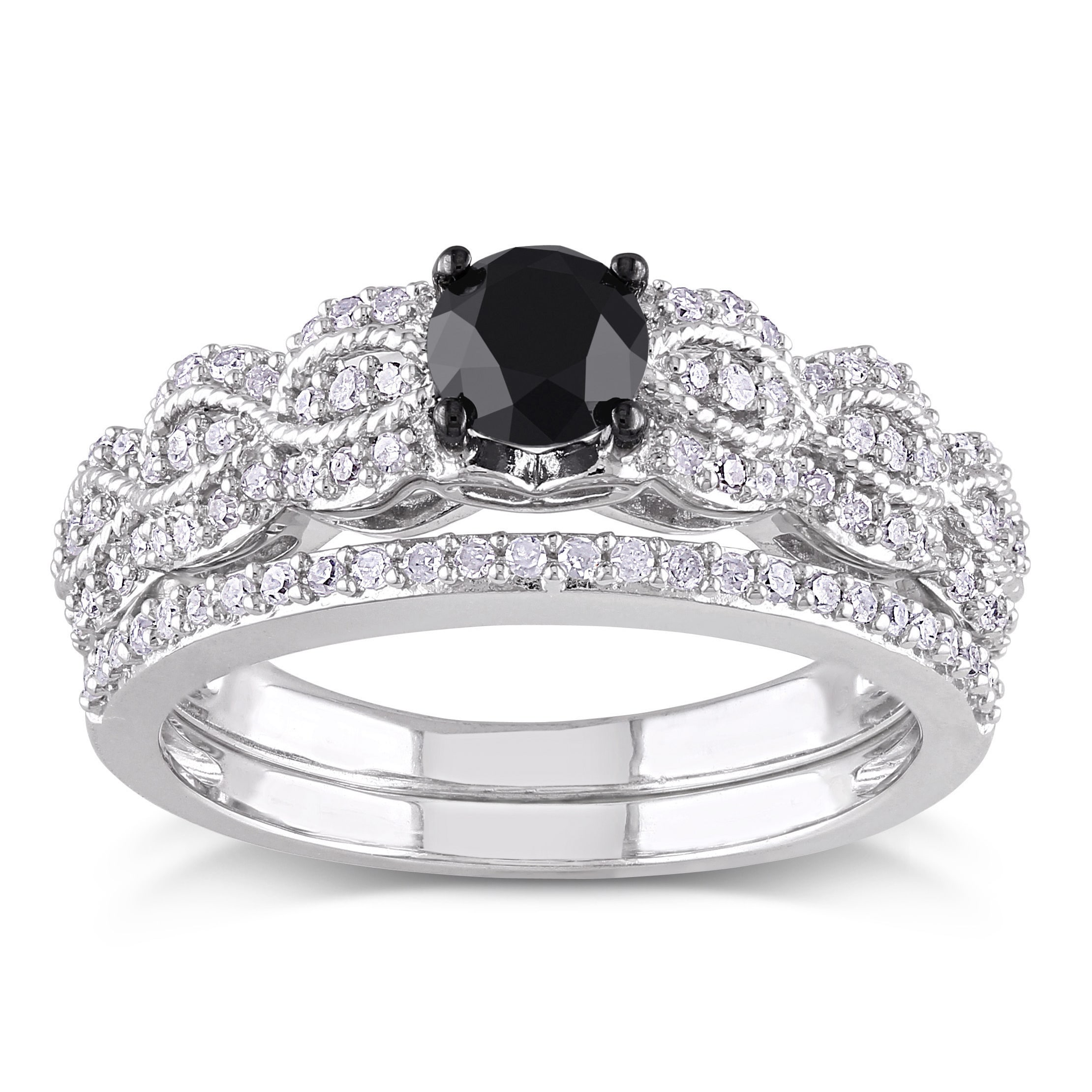 black en sterling to white ring engagement mv silver and diamond ct kaystore round rings zm hover tw cut zoom kay