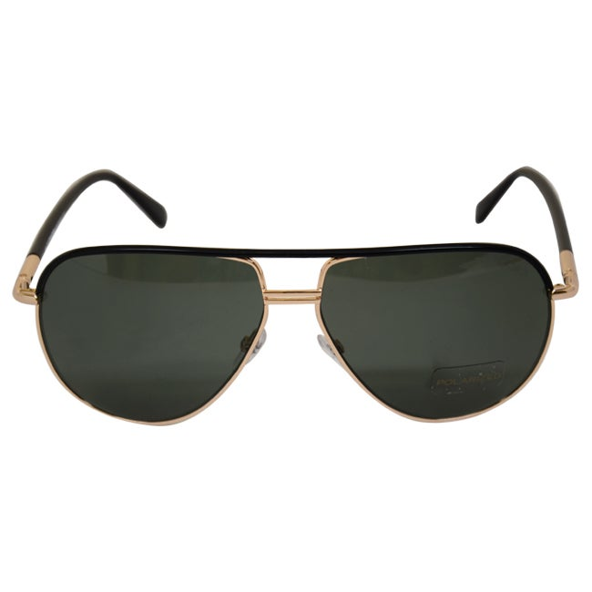 5074ca2e645 Shop Tom Ford Men s  FT0285 S Cole  Gold  Black Aviator Sunglasses - Free  Shipping Today - Overstock - 8409885