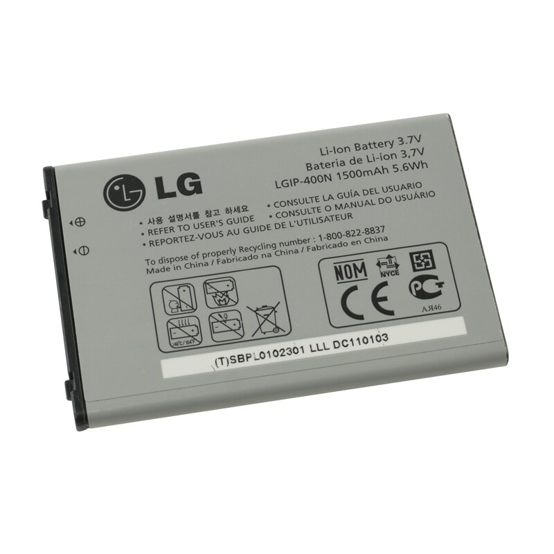 shop lg optimus t p509 oem standard battery lgip400n sbpl0102301 in rh overstock com LG P509 Drivers LG P505