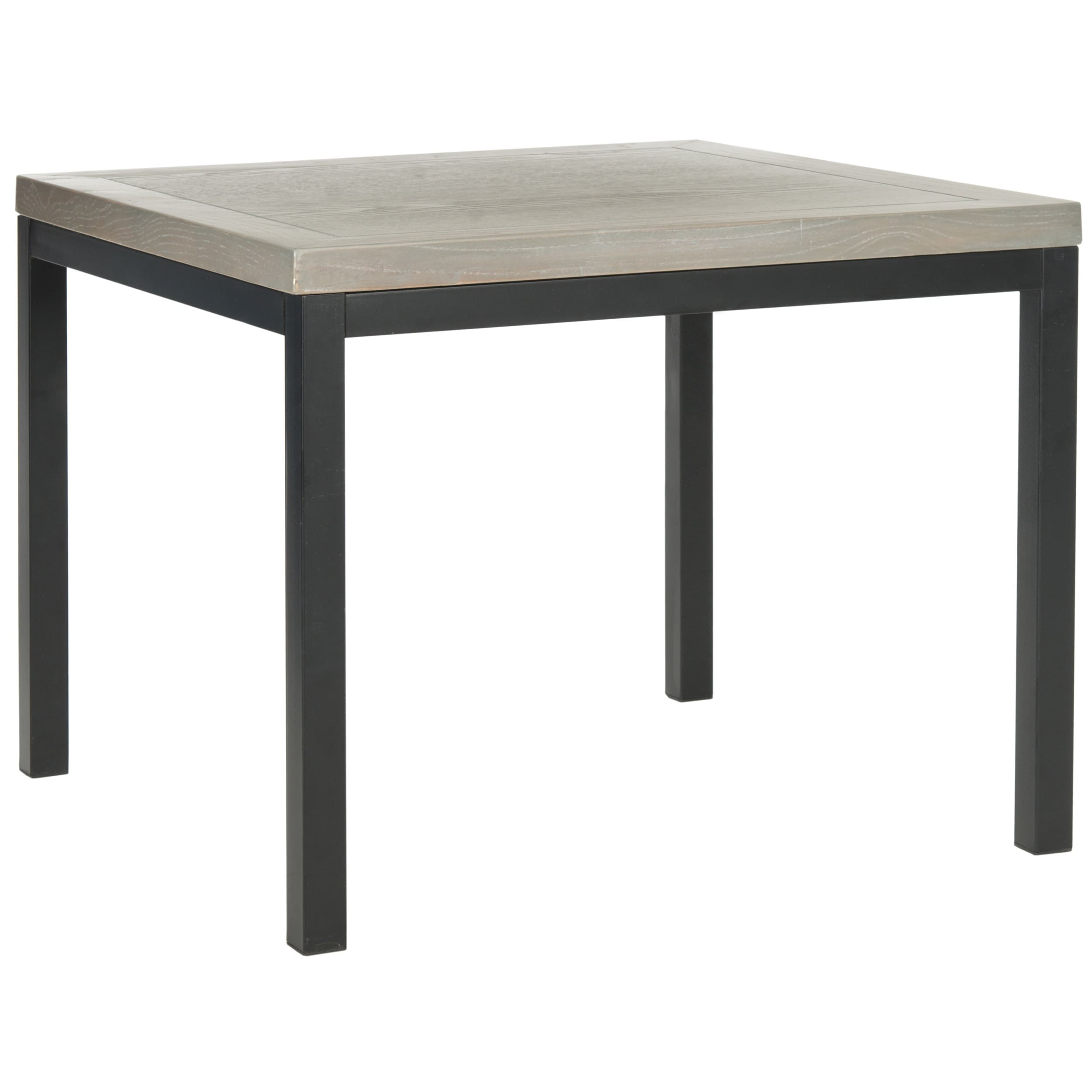 Shop Safavieh Dennis Ash Grey Side Table   Free Shipping Today    Overstock.com   8429355