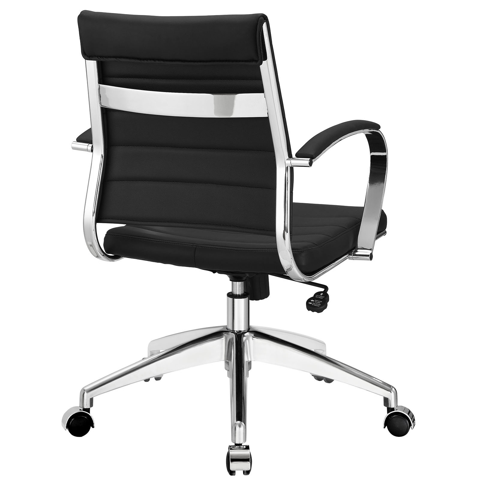 black and white office furniture. Jive Black Ribbed Vinyl Mid-back Executive Office Chair - Free Shipping Today Overstock 15726509 And White Furniture
