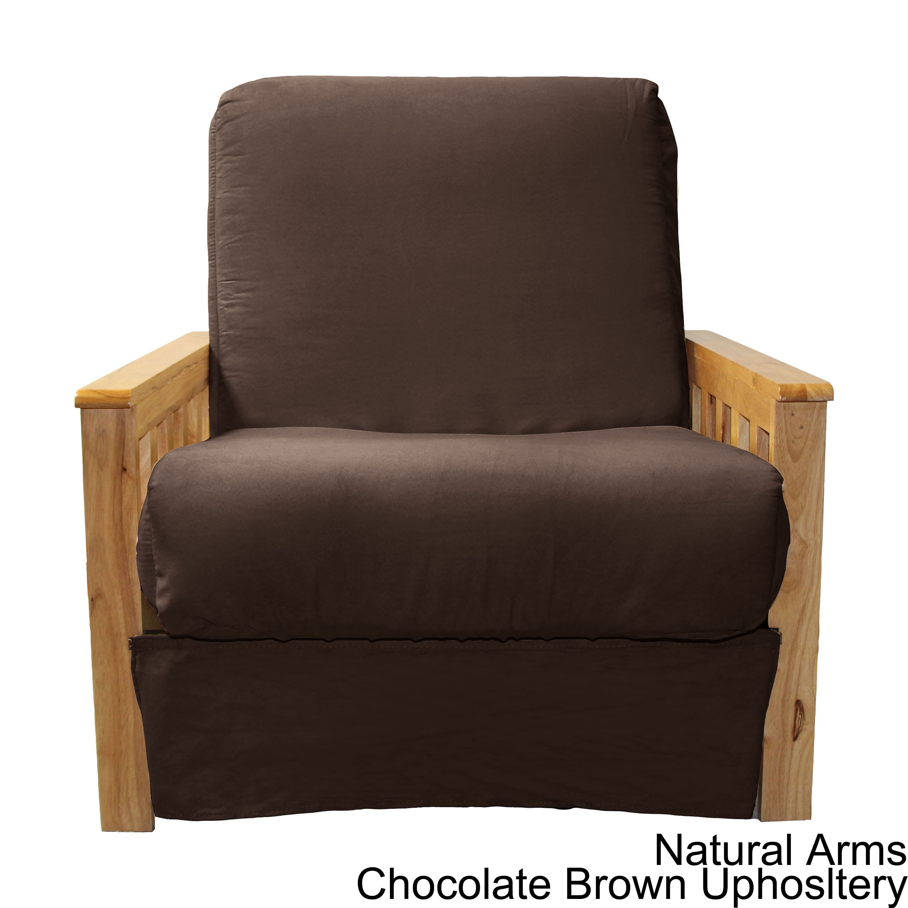 Pine Canopy Shenandoah Mission Style Pillow Top Futon Chair On Free Shipping Today Com 20469476