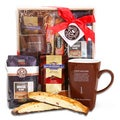Alder Creek Coffee Bean and Tea Leaf Delights Gift Basket