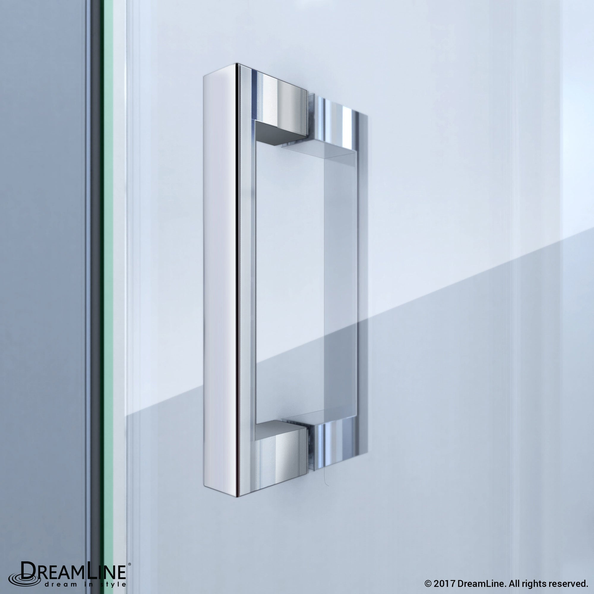 Shop DreamLine Butterfly Frameless Bi-Fold Shower Door, 32 in. by 32 ...