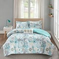 Mi Zone Simi Blue Comforter Set
