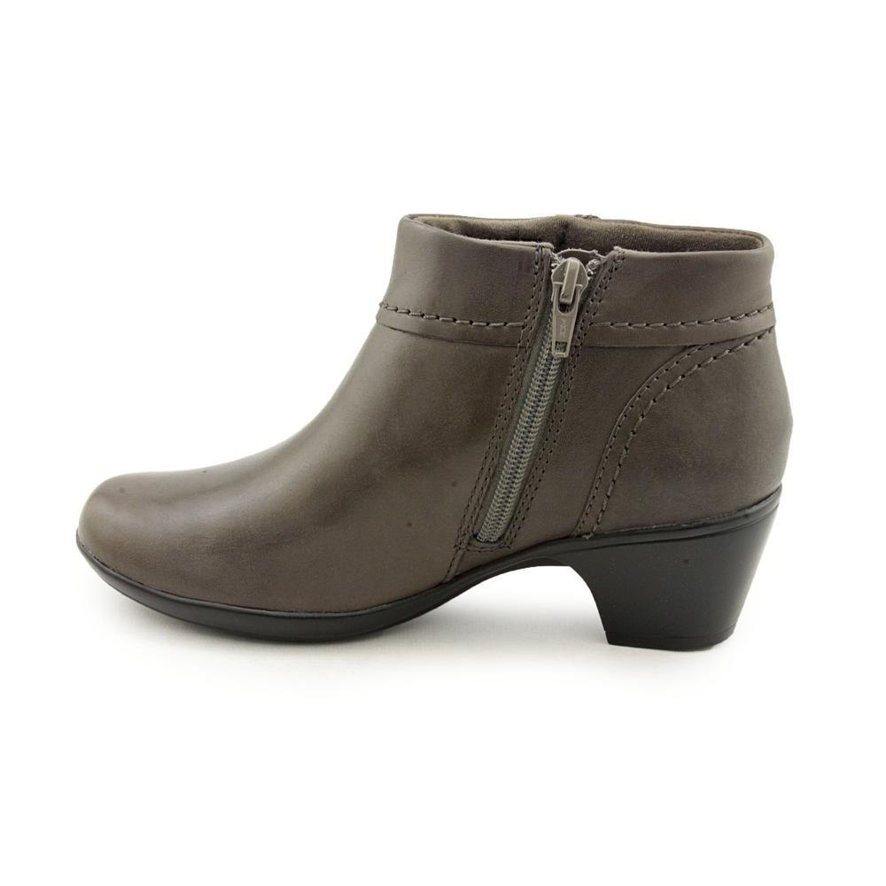 Shop Clarks Women's 'Ingalls Thames' Grey Leather Ankle Boots - Free  Shipping Today - Overstock.com - 8448570
