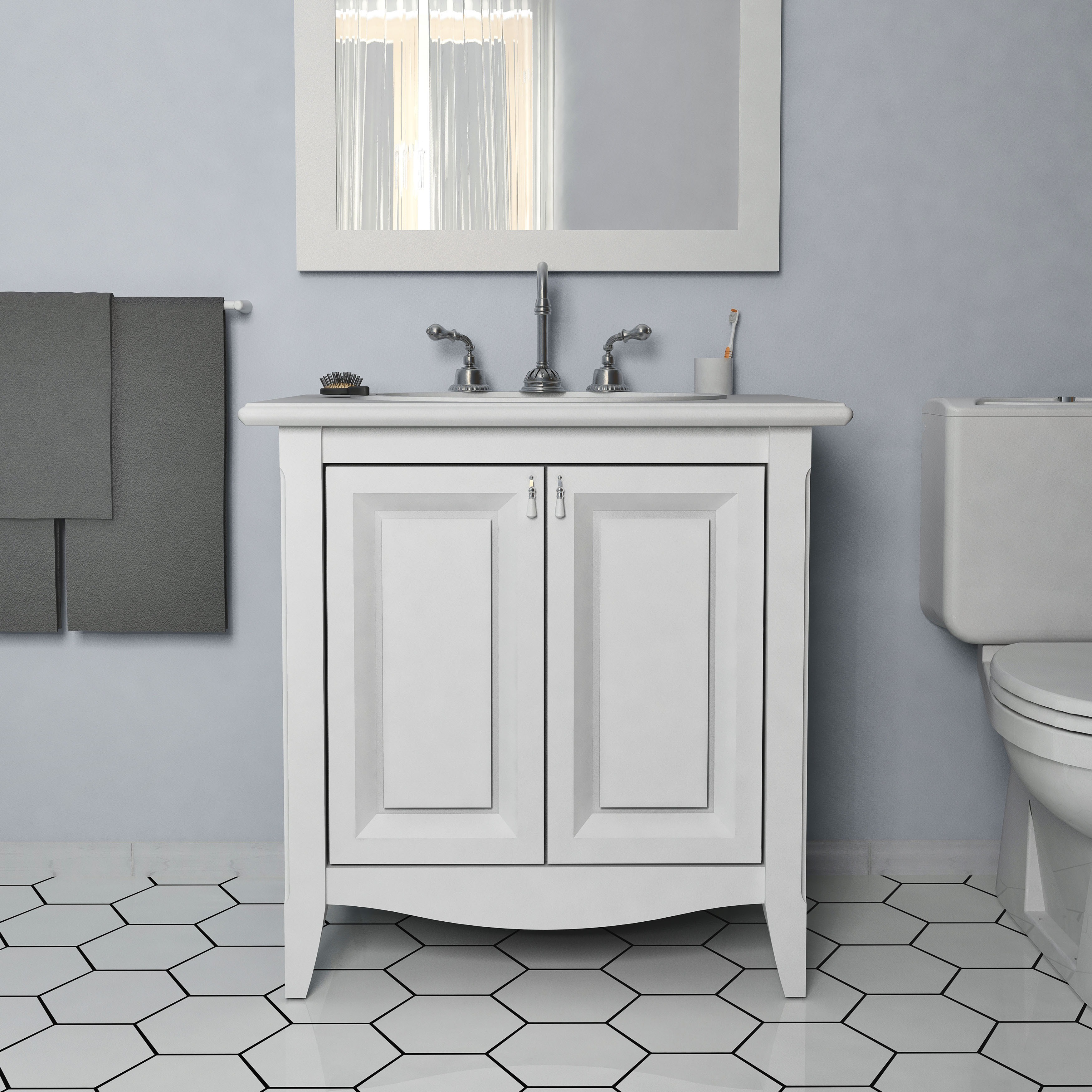 Somertile 7x8 inch hextile glossy grey ceramic floor and wall tile somertile 7x8 inch hextile glossy grey ceramic floor and wall tile 14 tiles44 sqft free shipping on orders over 45 overstock 15742524 dailygadgetfo Gallery