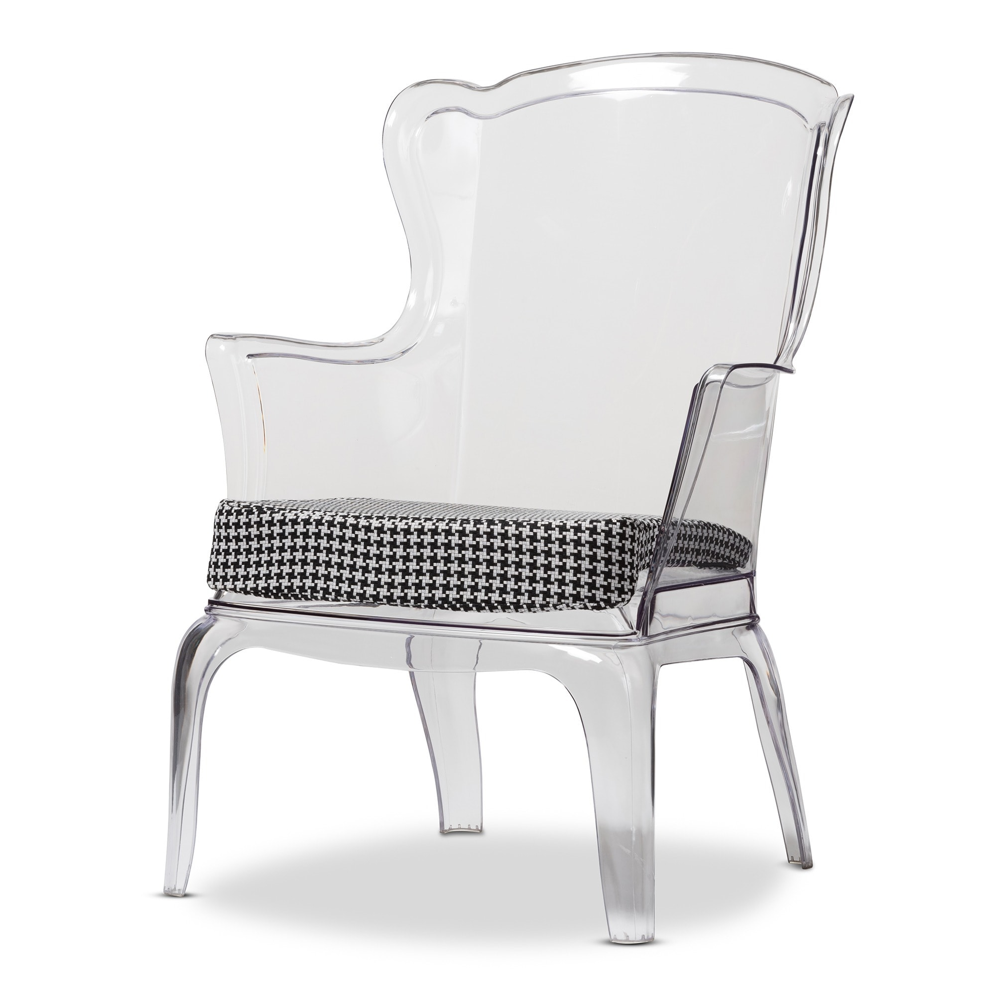 Delicieux Shop Baxton Studio Tasha Clear Polycarbonate Modern Accent Chair   Free  Shipping Today   Overstock.com   8458982