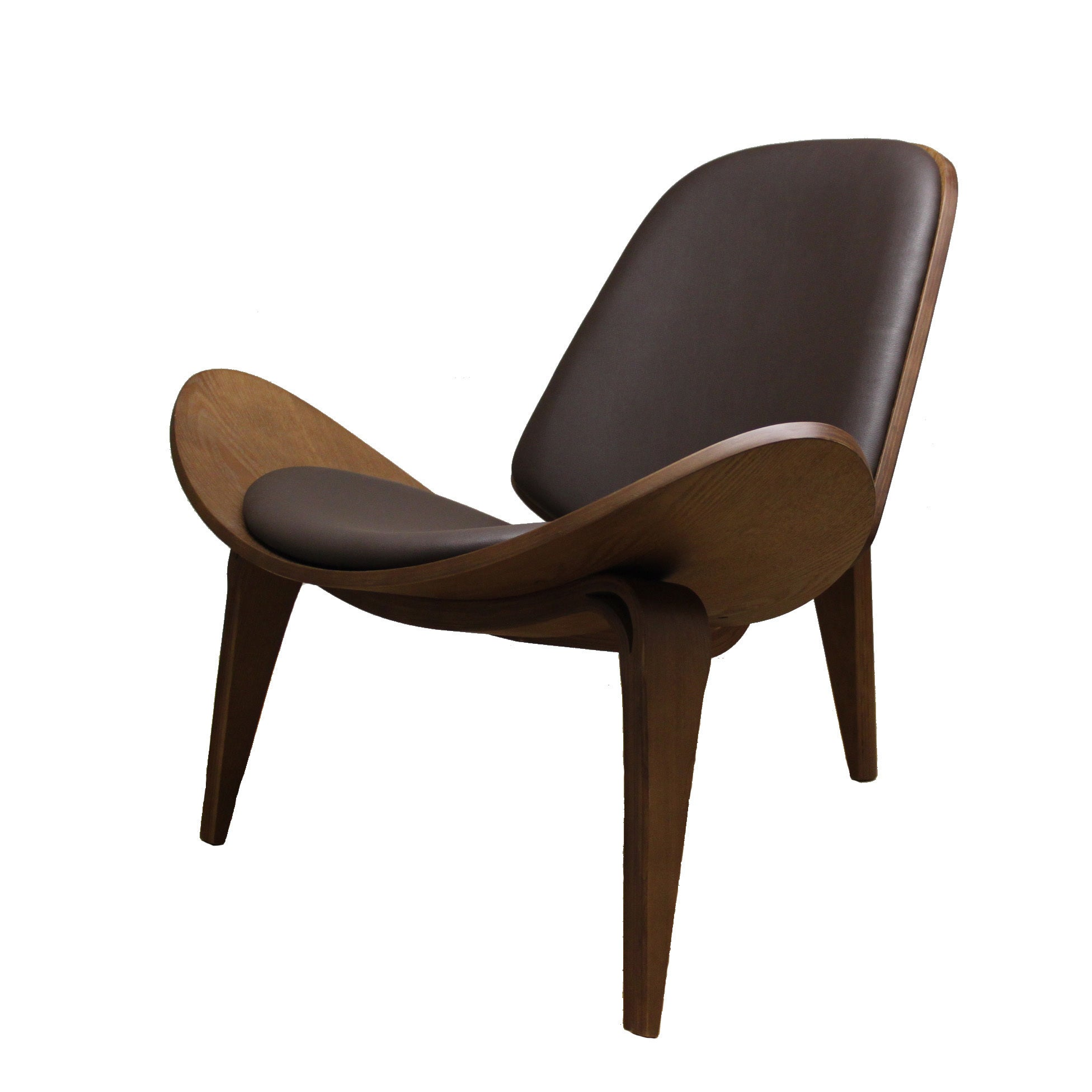 shop modern shell chair free shipping today overstock com 8459799