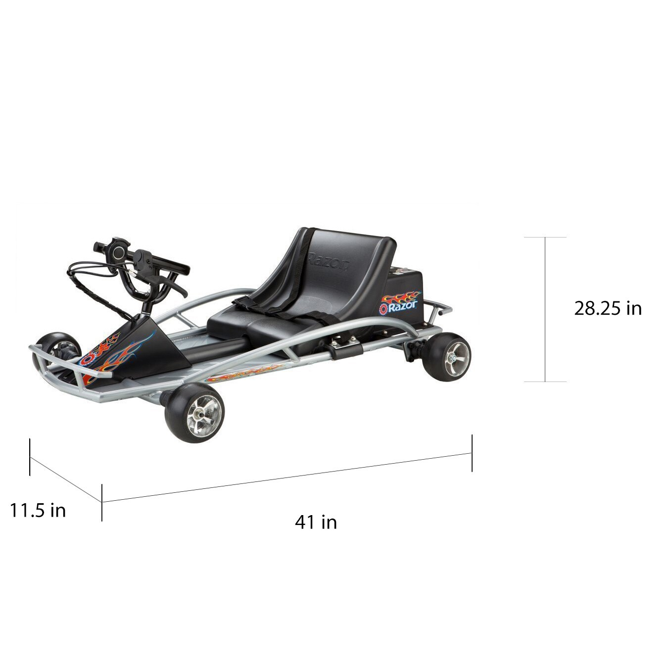 Razor Ground Force Electric Go Kart Free Shipping Today 8473798