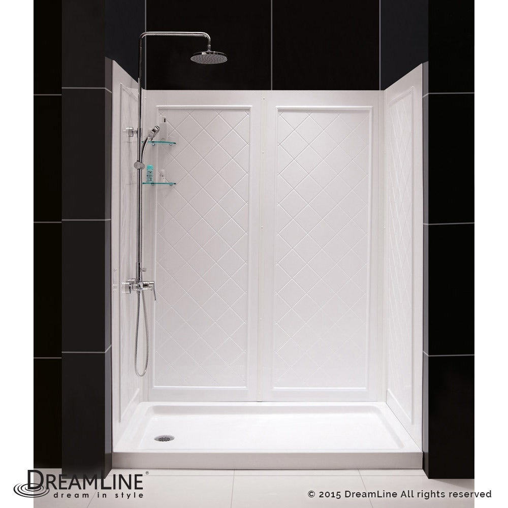 Shop DreamLine Infinity-Z Frameless Sliding Shower Door, 32 in. x 60 ...
