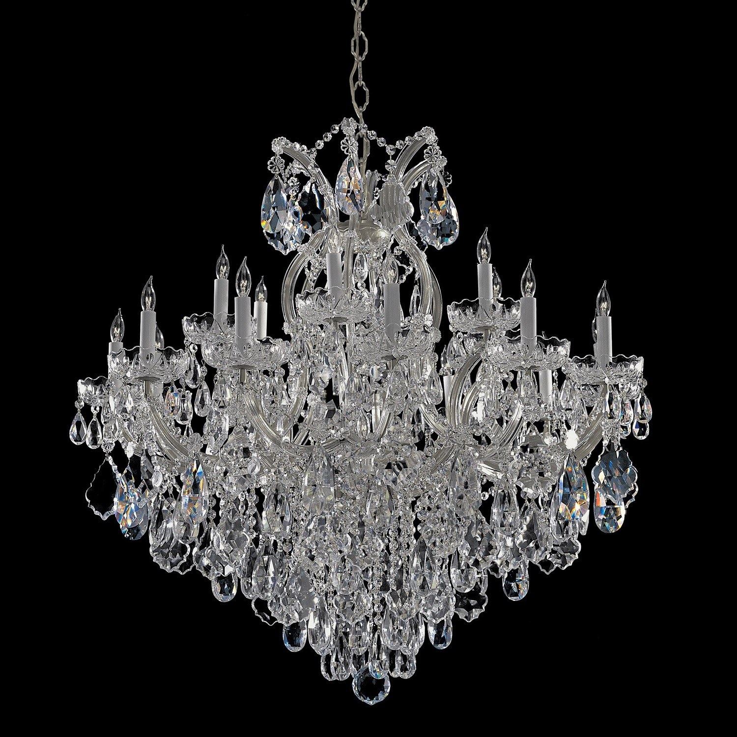 Crystorama maria theresa collection 18 1 light crystal crystorama maria theresa collection 18 1 light crystal chandelier free shipping today overstock 15766983 arubaitofo Choice Image