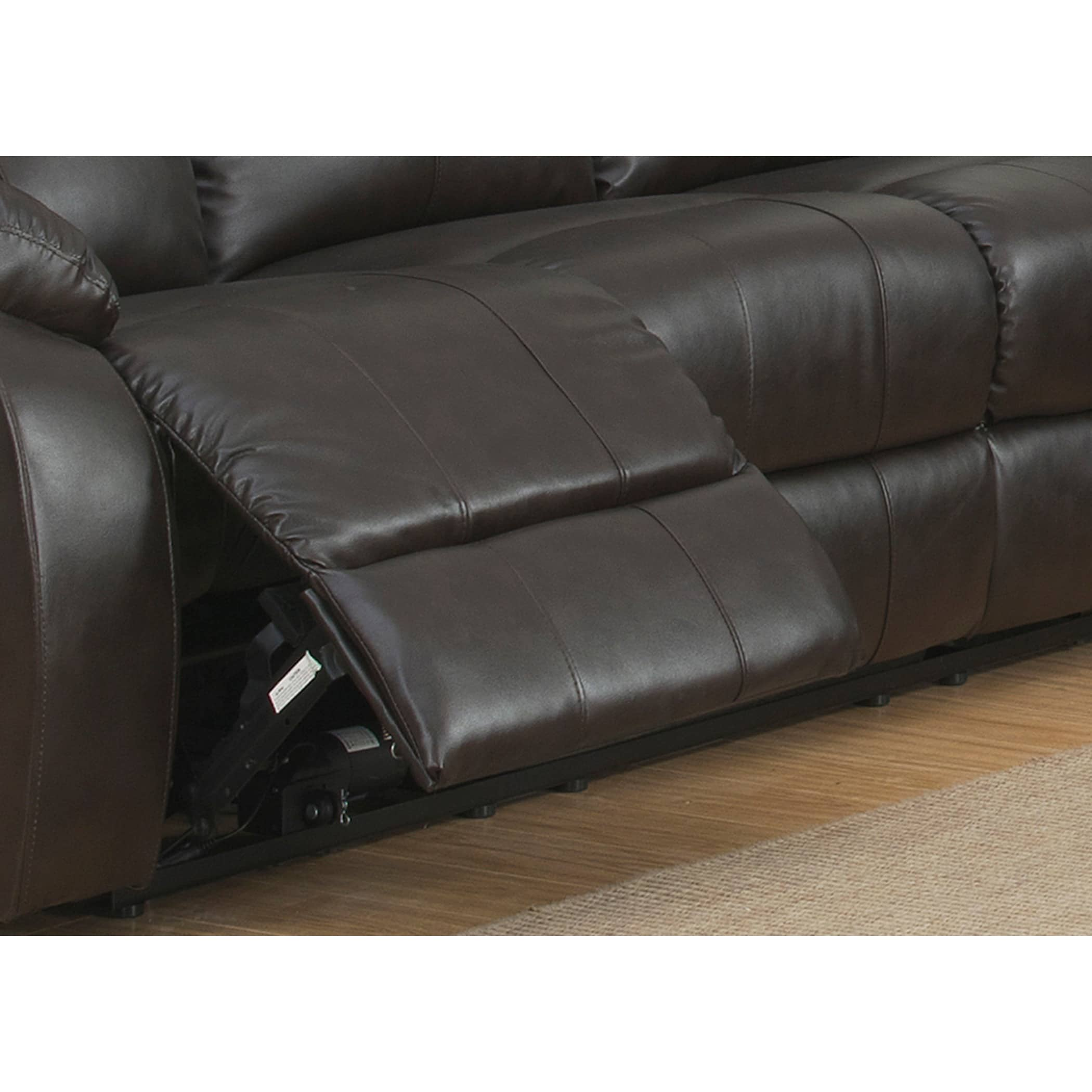 Troy Dual Power Reclining Sofa Free Shipping Today Overstock  ~ Leather Dual Reclining Sofa