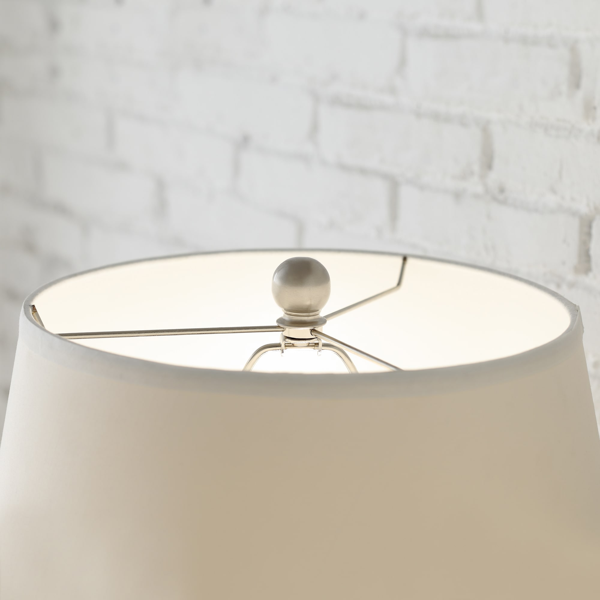 Shop cornelia 3 way satin nickel contoured cage base 1 light accent table lamp by inspire q bold on sale free shipping today overstock com 8481098
