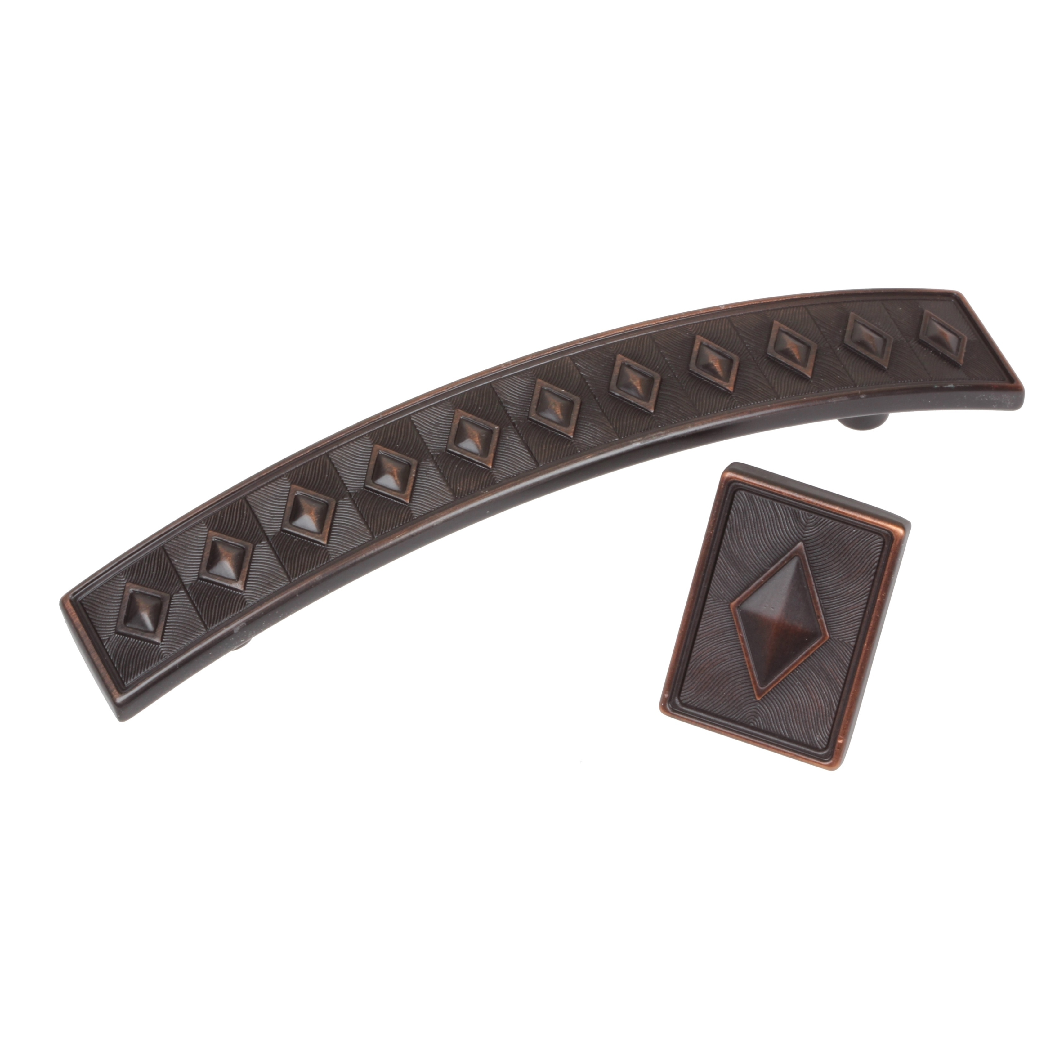 Gliderite Diamond Series Oil Brushed Bronze Cabinet Pulls Pack Of 25 On Free Shipping Today 8481323