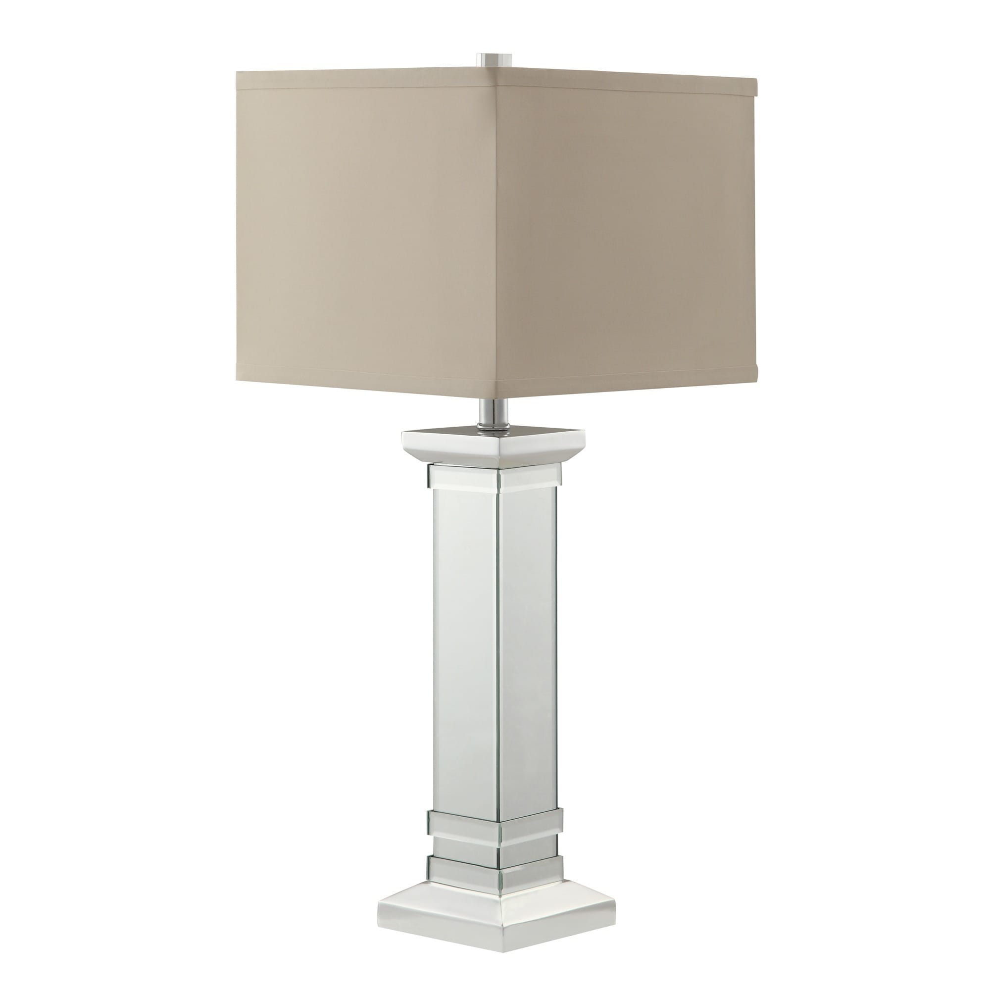 Felton 3-way Crystal Mirror Base 1-light Accent Table Lamp by iNSPIRE Q  Bold - Free Shipping Today - Overstock.com - 15772681