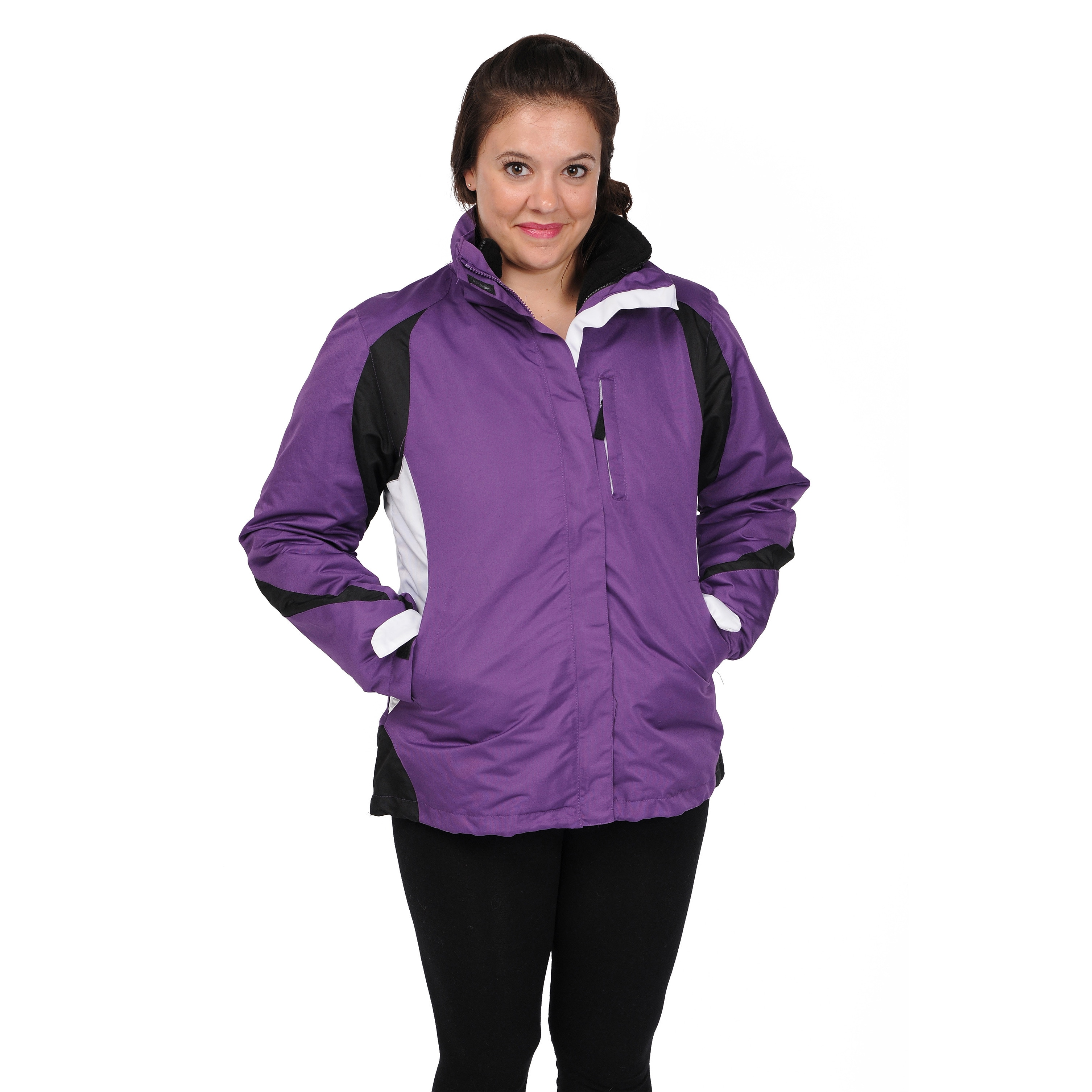 Excelled Women's 3-in-1 Jacket - Free Shipping Today - Overstock.com -  15774481