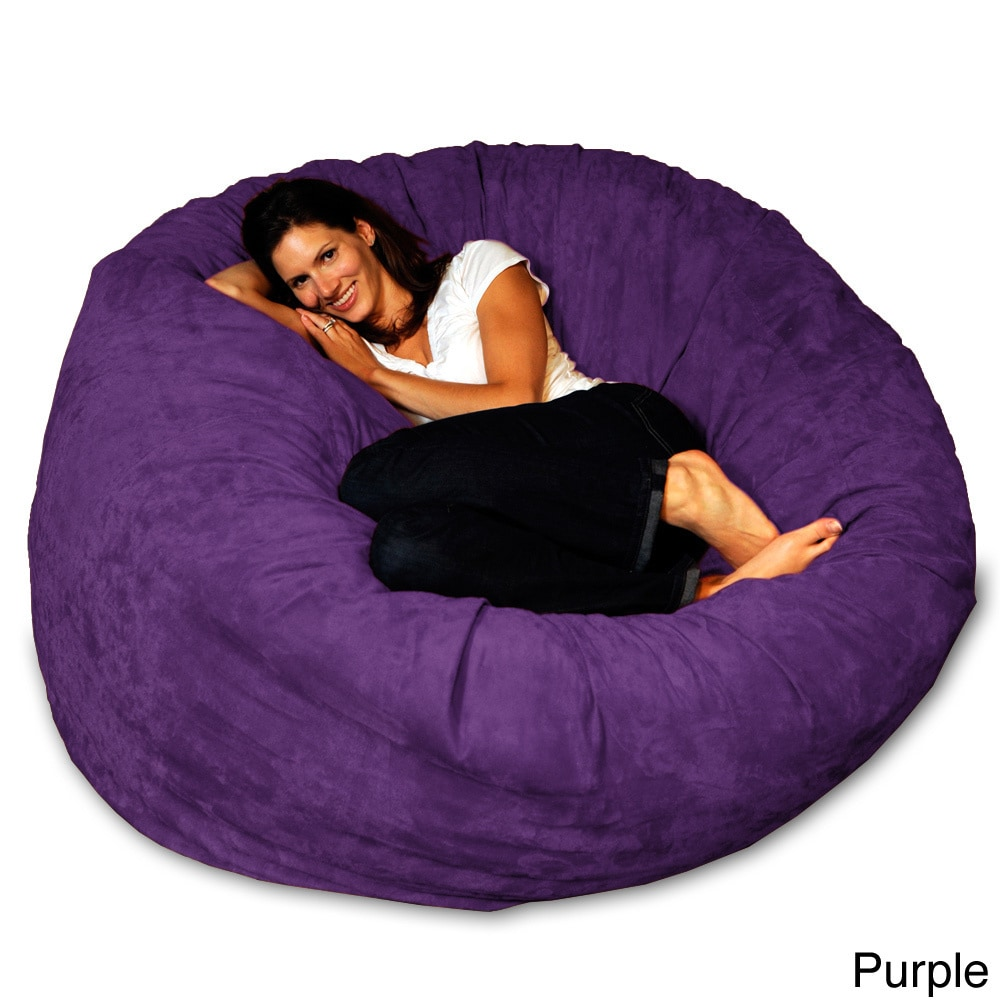 Beautiful 5 Foot Memory Foam Bean Bag Chair   Free Shipping Today   Overstock    15774676