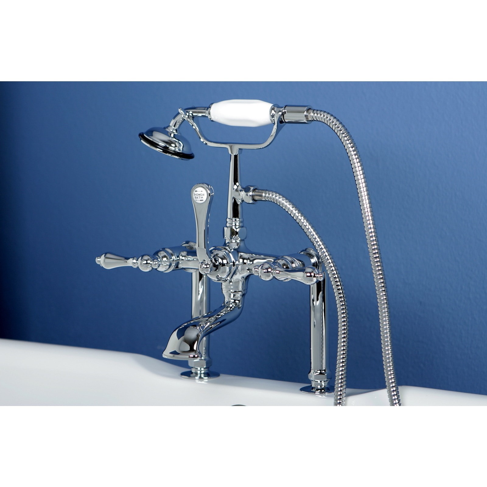 Vintage Collection 67-inch Acrylic Slipper Clawfoot Tub and Faucet ...