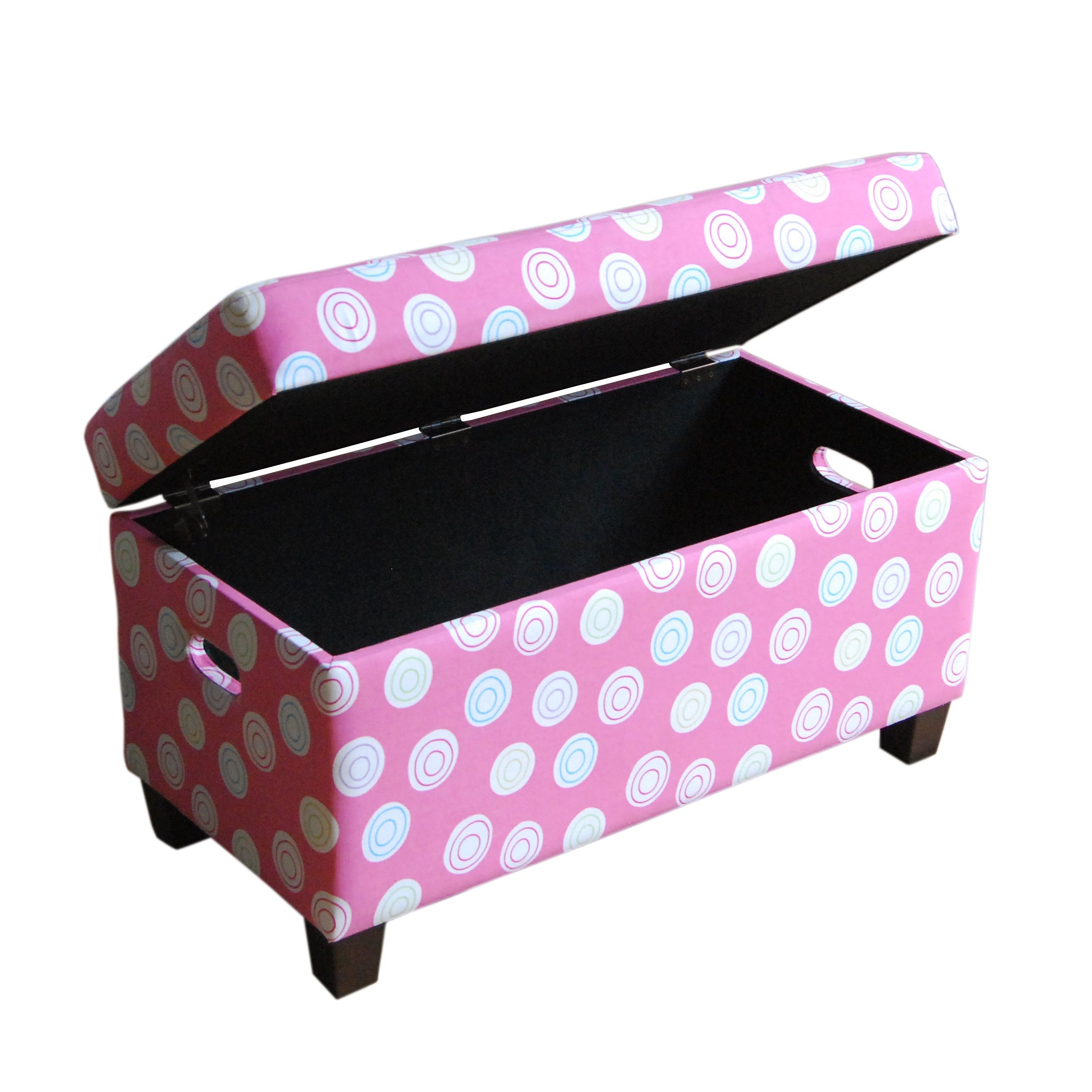 Shop HomePop Deluxe Pink Storage Bench - Free Shipping Today - Overstock.com - 8494133  sc 1 st  Overstock.com & Shop HomePop Deluxe Pink Storage Bench - Free Shipping Today ...