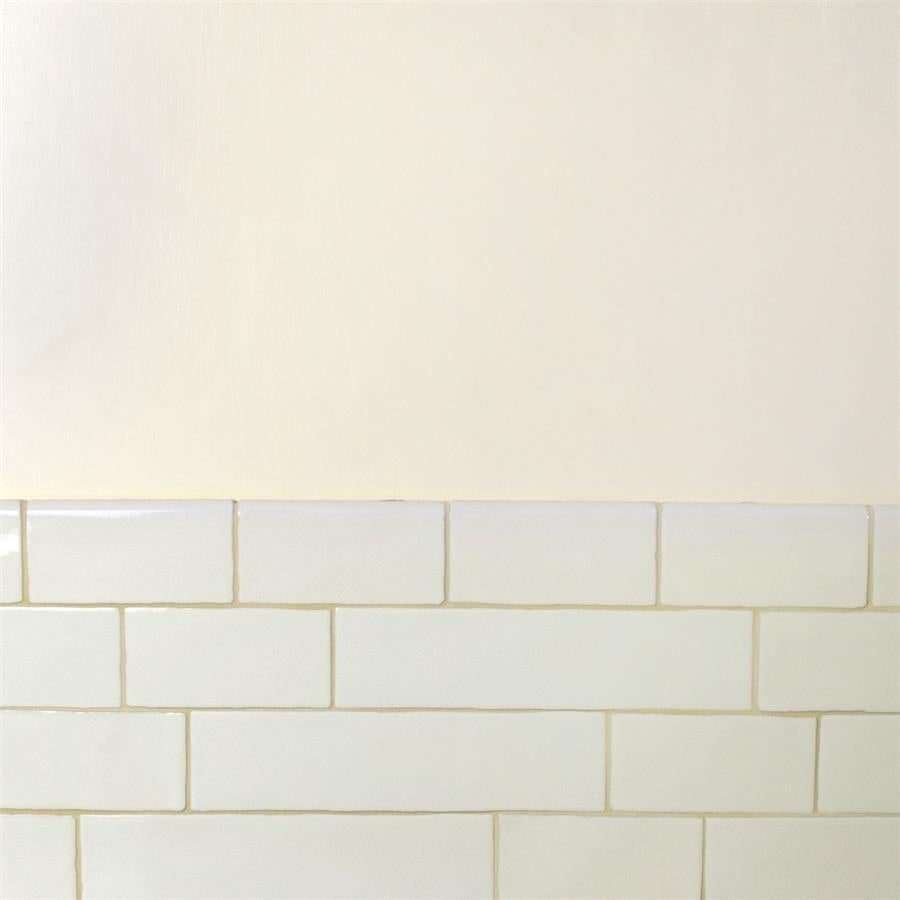 Shop SomerTile 3x12-inch Alaskan Craquelle White Ceramic Wall Tile ...