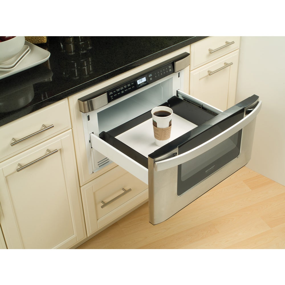 Sharp Insight Pro Series 24 Inch Built In Microwave Drawer Free Shipping Today 8497002