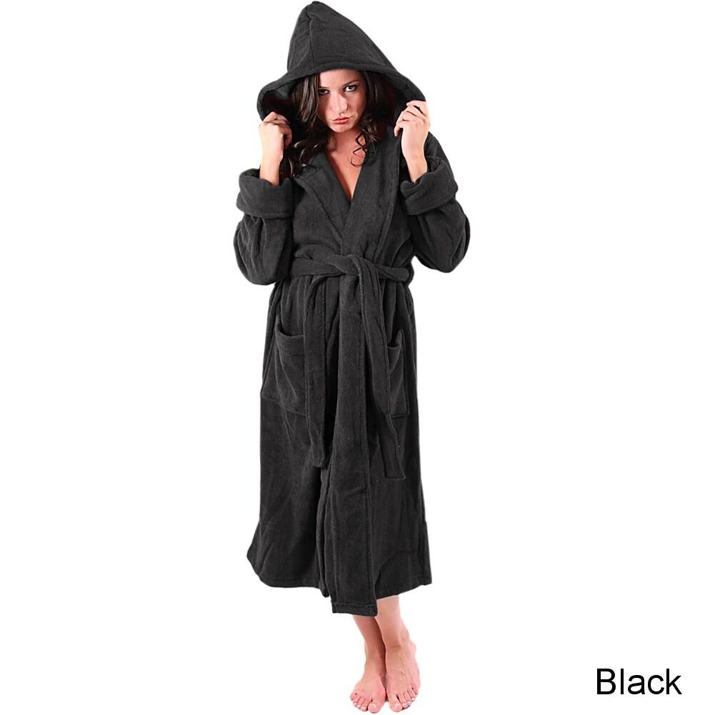 e37ae0e72e Del Rossa Women s Thick Hooded Terry Cotton Robe