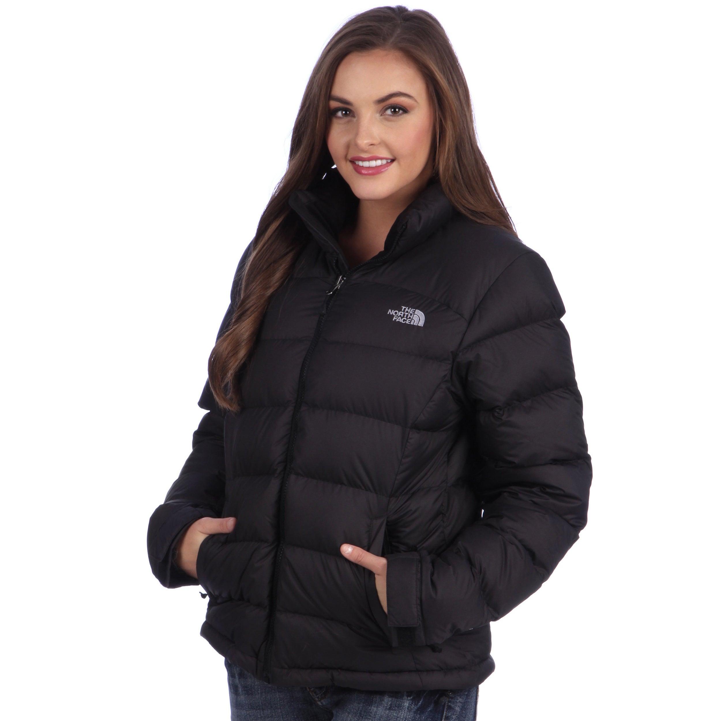 Shop The North Face Women s Black  Nuptse 2  Jacket - Free Shipping ... 8a3440cc1c