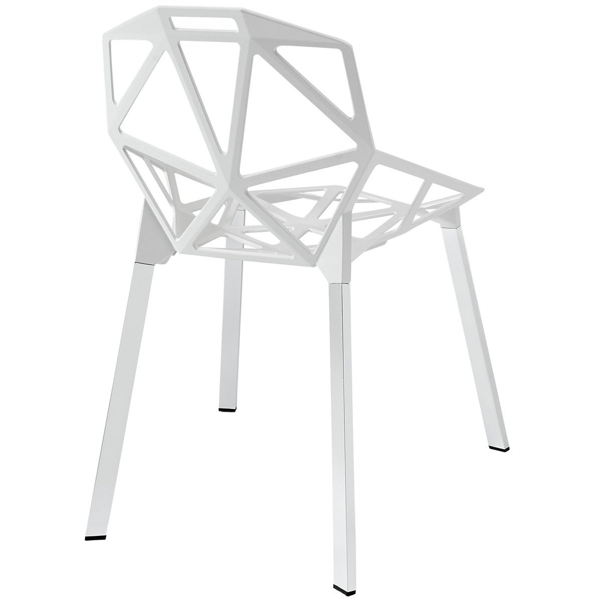 Shop U0027Connectionsu0027 Dining Chair In Black   Free Shipping Today    Overstock.com   8504111