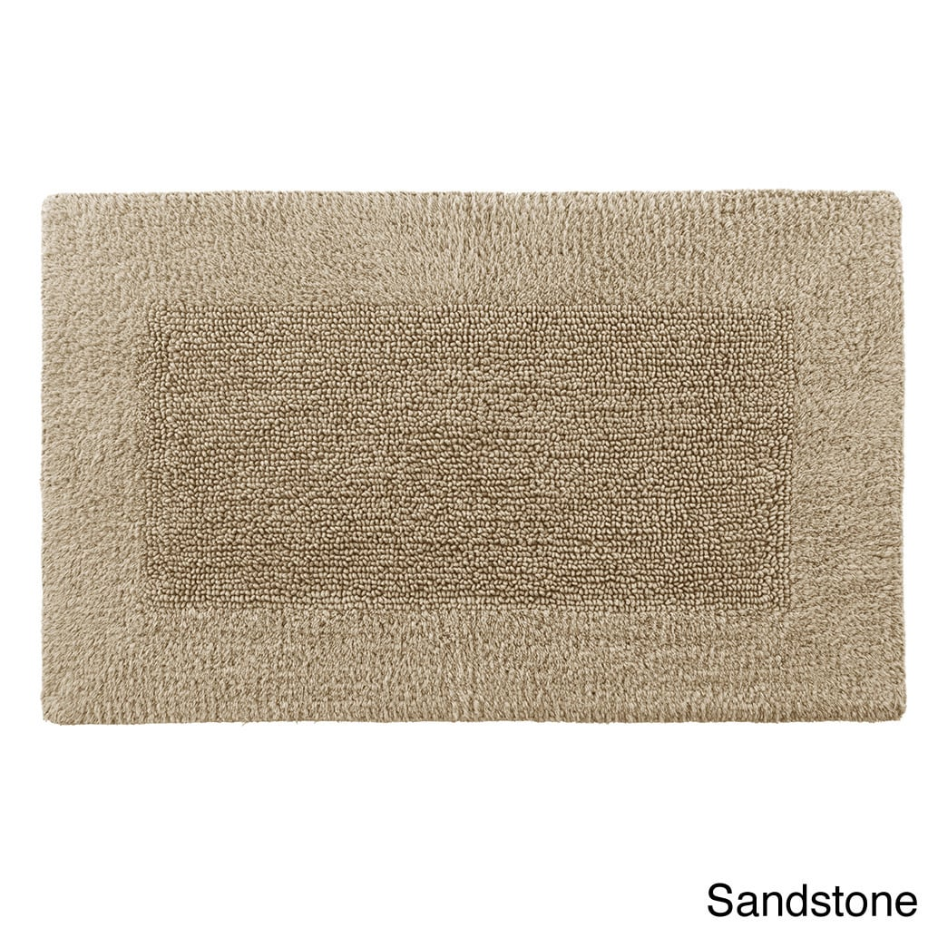 Shop Reversible Solid Cotton And Rayon From Bamboo Bath Rug Collection    Free Shipping On Orders Over $45   Overstock.com   8522504