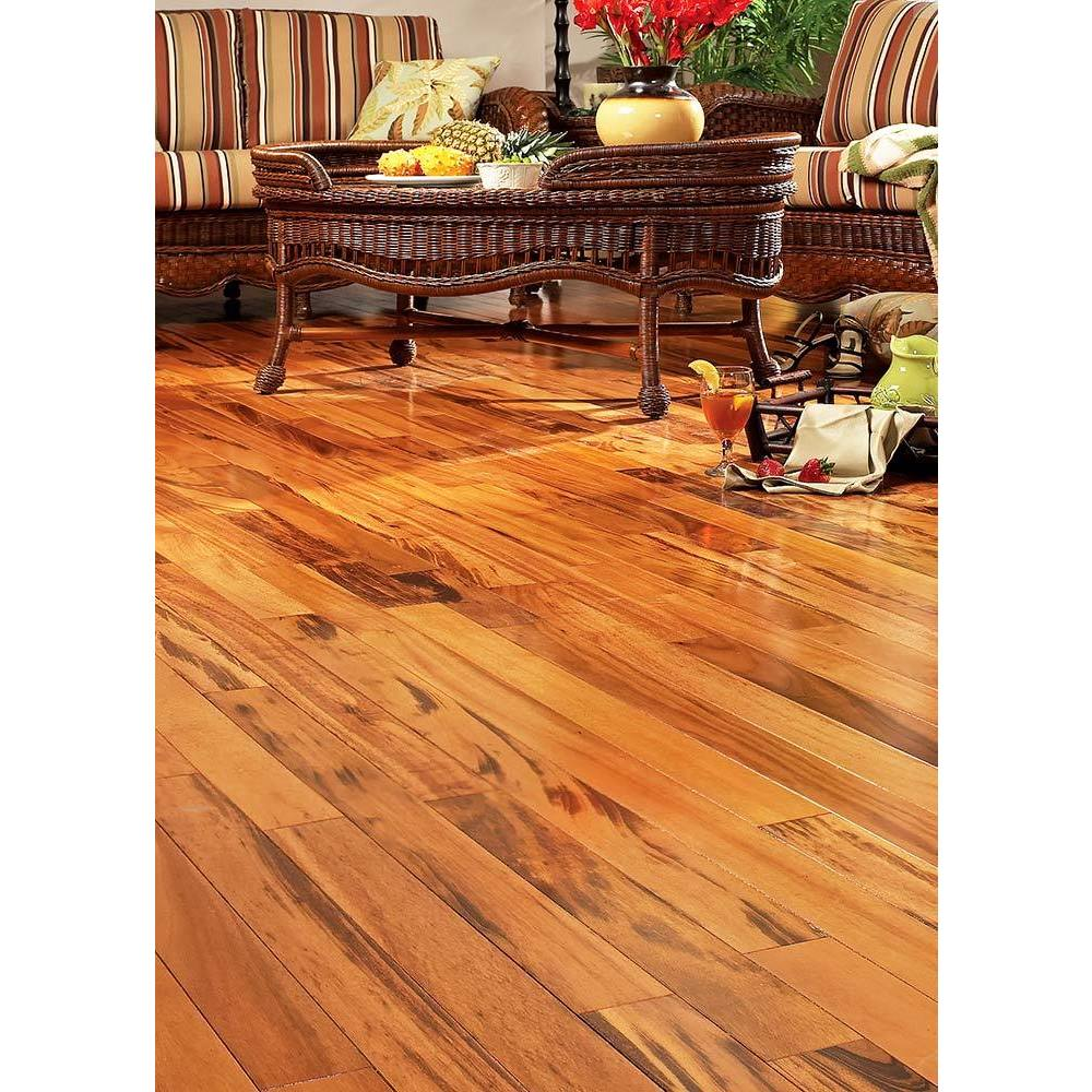 Shop Exotic Brazilian Tigerwood Engineered Hardwood Flooring Free