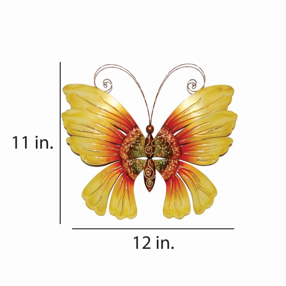 Shop Handmade Butterfly Sunflower Wall Decor - On Sale - Free ...