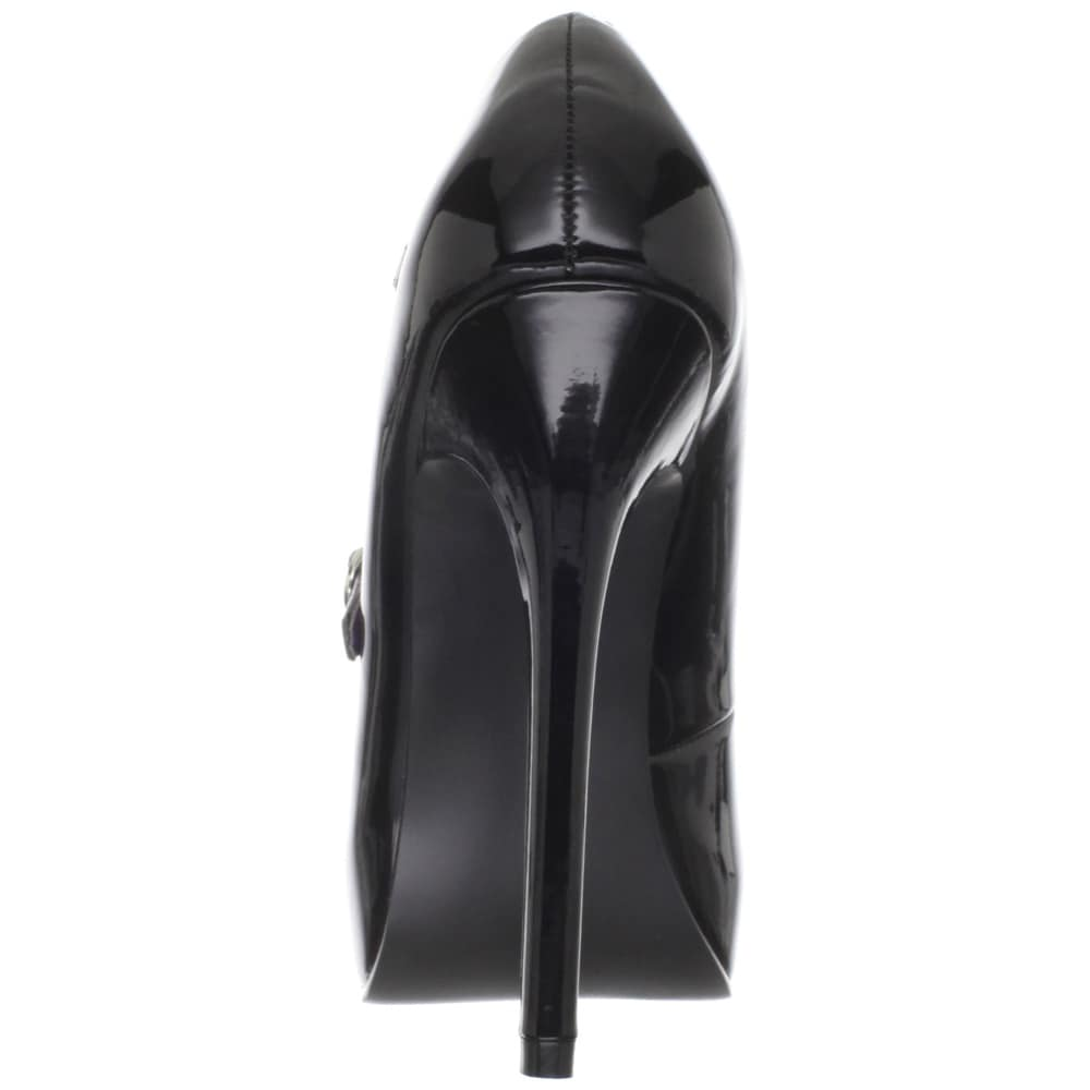 Shop Devious Women's 'Bondage-03' Patent Mary Jane Square Toe Pumps - Free  Shipping Today - Overstock - 8533642