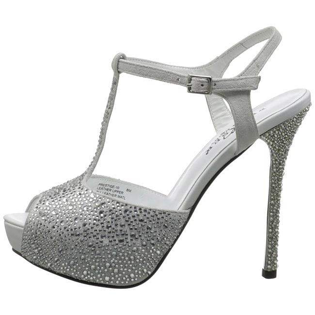 Shop Pleaser Day Heels & Night 'Prestige Donna T Strap Heels Day Free 0ee163