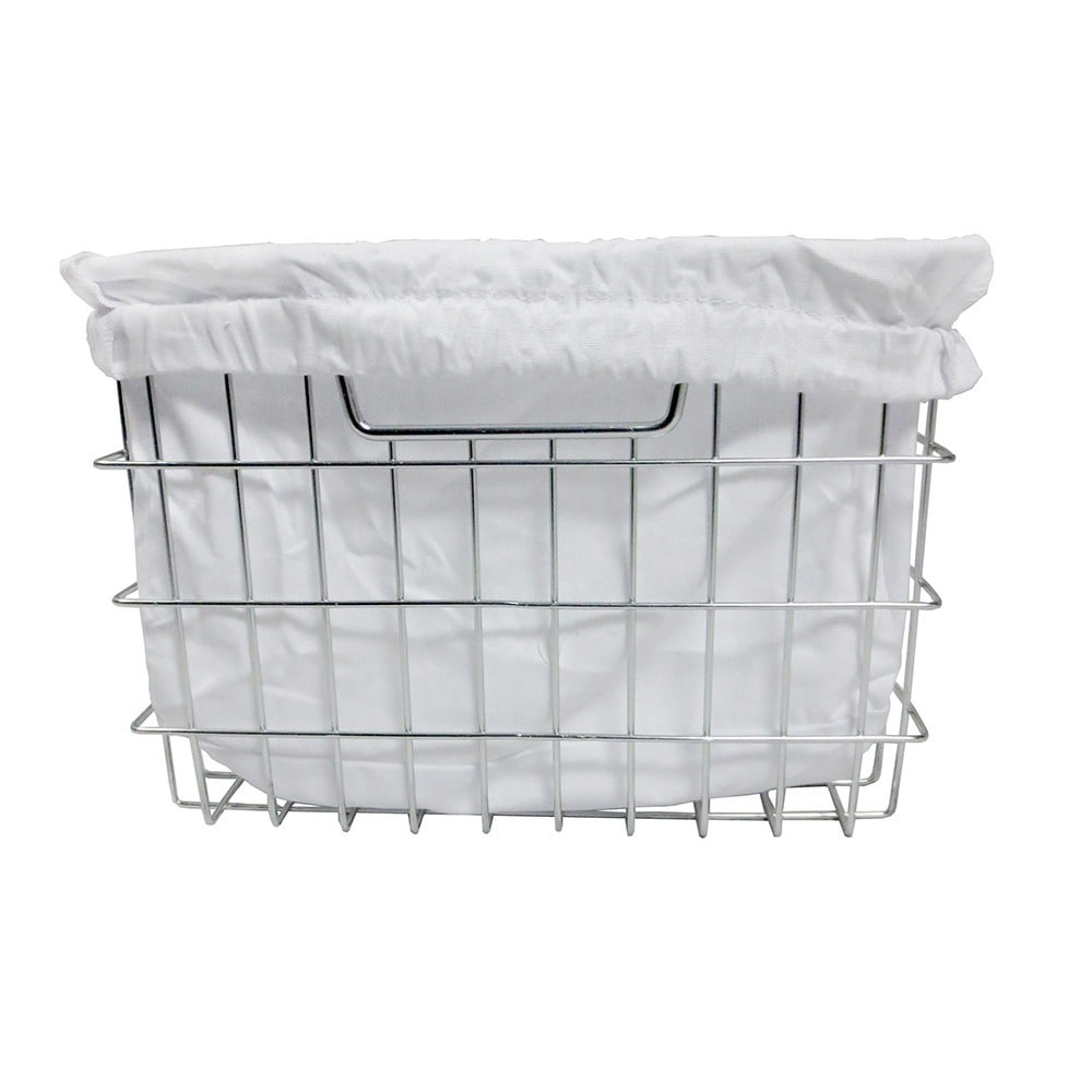 Shop TRINITY EcoStorage Chrome Wire Basket with Cover - Free ...
