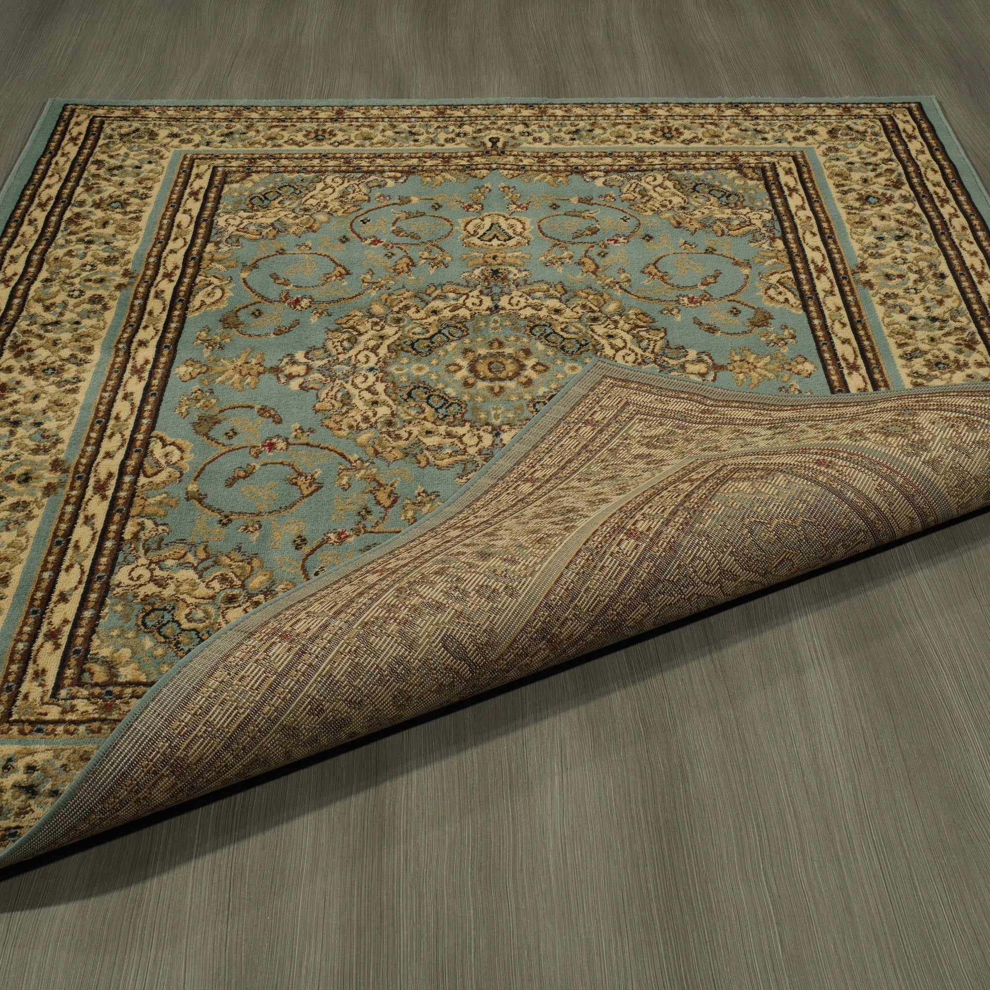 Ottomanson Royal Collection Oriental Persian Medallion Area Rug (7u002710 X  9u002710)   Free Shipping Today   Overstock.com   15817710